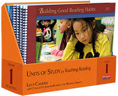 Units Of Study For Teaching Reading Grade 1