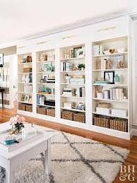 you can build this diy library wall for