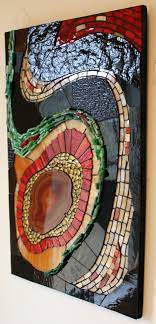 stained glass glass mosaic art agate