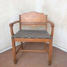 vanity stools and chairs. Vintage ART DECO Vanity BENCH STOOL Sewing WATERFALL Dressing CHAIR Antique Art Stools And Chairs