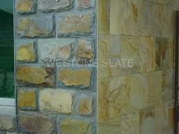 gold slate wall tiles