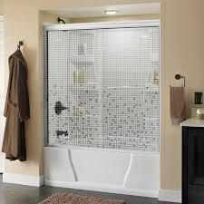 full size of clear shower doors frameless bathtub sliding half glass door for height tub trackless