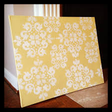 supplies  on diy stencil canvas wall art with project spotlight diy stenciled wall art she rambles