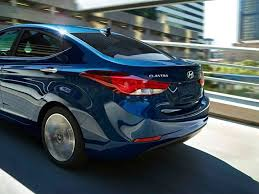 hyundai elantra 2014 blue. Exellent Blue 2014 Hyundai Elantra Sedan In Blue Rear Shot Intended I
