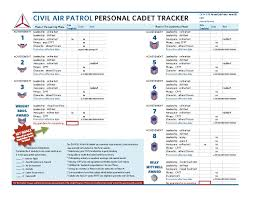 Civil Air Patrol Senior Ranks Chart Fl090 Cadet Programs