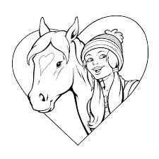 Paarden Kleurplaten Amika Brekelmansadviesgroep