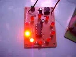 10 led sequential circuit electronics
