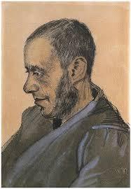 <b>Bookseller Blok</b>, The by Vincent <b>Van</b> Gogh - 1802 - Watercolor