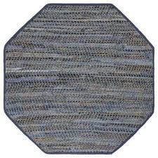 blue jeans 10 ft x 10 ft octagon area rug