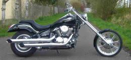 ame 14 degree bolt on chopper kit fits kawasaki vn900 models