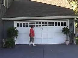 painting garage doorQuick Easy Garage Door Make Over  YouTube