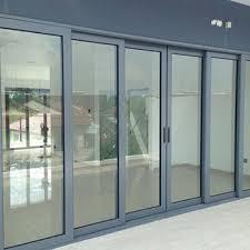 china tempered glass aluminum sliding door roller
