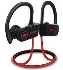 anbes u13 bluetooth headphones sports earphones with ear hooks mic ipx7 waterproof