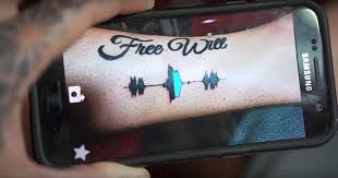 Soundwave Tattoos Use App To Translate Image To Sound Teen Vogue