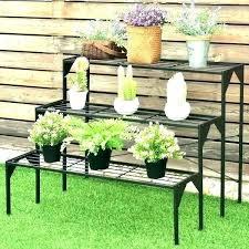 outdoor plant shelf outdoor plant shelf tiered outdoor plant stand 3 tiered outdoor plant stand 3
