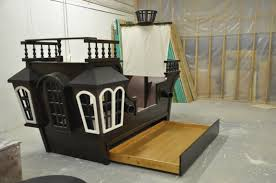 Pirate Ship Single Bed Race Car Twin Toddler Bunk Beds That Turn ...