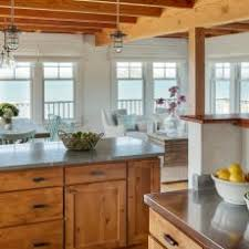 Ocean Views Provide Backdrop for Coastal Kitchen