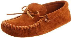 minnetonka men s leather laced softsole mocassins brown shoes loafer flats minnetonka sheepskin slippers minnetonka knee high boots for