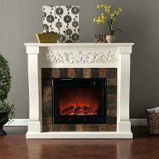 full image for home depot electric fireplaces mantle interior potted plant wicker basket dark flooring fireplace
