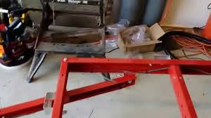 harbor freight folding trailer build part 2 wheels and wiring you