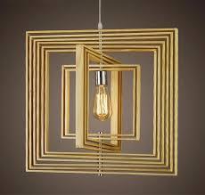 lighting frames. Adjustable Geometry Wood Frames Pendant Light At Lifeix Design Lighting