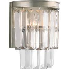 glam silver sconces lighting