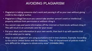 writing informative and expository essays crafting an informative  avoiding plagiarism plagiarism is taking someone else s work and passing it off as your own out
