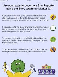 Story Grammar Story Grammar Marker App Review The Speech Bubble