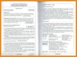 2 Page Resume Sample Cool 48 Page Resume Examples 48 Page Resume Examples Two Page Resume Sample