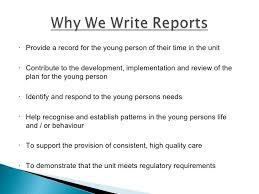 write a report professional report writing