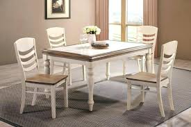 glass dining table sets furniture small round kitchen set rustic white 6 room for piece