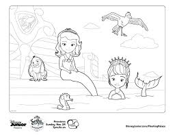 Sofia The First Coloring Pages Pdf Coloring Newest Games