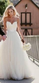 simple wedding dresses with straps naf dresses