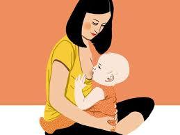 Afbeeldingsresultaat voor beste houding borstvoeding