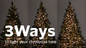 Best Way To Hang Christmas Lights How To Hang Christmas Tree Lights 3 Different Ways This