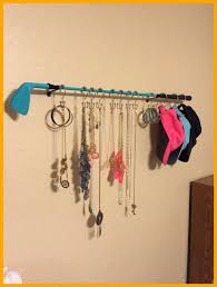 amazing old golf club new necklace hanger take a look at this pict of coat rack