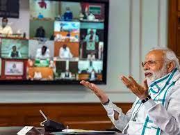 pm modi to meet with cm of states : कोरोना से बिगड़ते हालात पर PM मोदी  करेंगे बैठक, इन 5 राज्यों ने बढ़ाई टेंशन - Navbharat Times