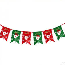 christmas ornament banner. Exellent Christmas 2m Christmas Decoration Party Flag Banner Home Holiday Ornament Red U0026  Green To