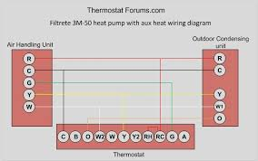 3m 50 wi fi thermostat filtrete 3m 50 heat pump aux heat wiring diagram