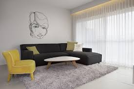 Contemporary Living Room Design With Simple Small Spaces Furniture