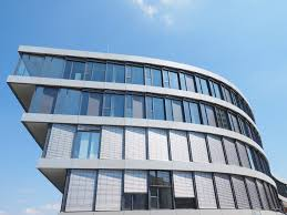 glass curtain walls