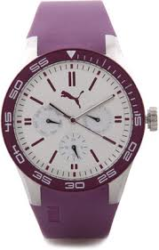 lowest price for puma analog watch for men women purple price puma analog watch for men women purple lowest price