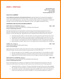 11 Summary Example For Resume Mbta Online