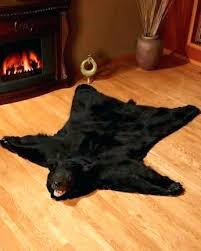 fake bear skin rug awesome and beautiful with head lovely ideas rugs for wi