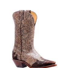 boulet 11 las western tool bone black damiana moka leather sole snip toe boot 7612