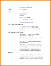 Free Resume Writing Exol Gbabogados Co How To Write A Federal Vitae