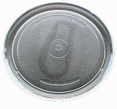 sharp microwave glass turntable plate tray 10 3 4 a034
