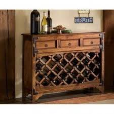 Sofa Table With Wine Rack Foter