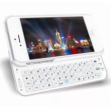 iphone keyboard case. ultra-thin slide bluetooth keyboard case for iphone se/5s/5 and 5 (white) | lazada ph iphone /