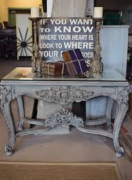 gray furniture paintVintage furniture Chalk Paint Falls Church  Stylish Patina